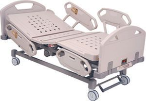 Electrical bed / on casters / reverse Trendelenburg / Trendelenburg Classic Series Chang Gung Medical Technology