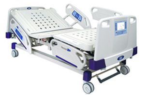 Electrical bed / on casters / height-adjustable / with weighing scale Vanguard Series Chang Gung Medical Technology