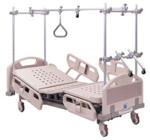 Electrical bed / height-adjustable / 4 sections / orthopedic traction frame Classic Series Chang Gung Medical Technology