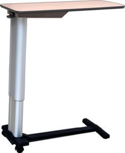 Height-adjustable overbed table / on casters CaGar Series Chang Gung Medical Technology