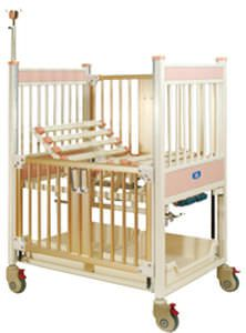 Mechanical bed / on casters / height-adjustable / 4 sections Aegis Series Chang Gung Medical Technology