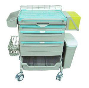 Emergency trolley / modular U-AID Series Chang Gung Medical Technology