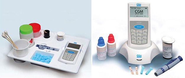 Blood glucose meter OPUS Series Chang Gung Medical Technology