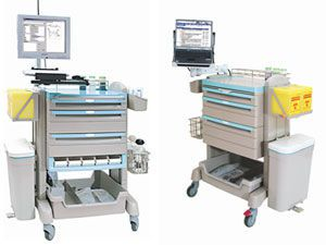 Treatment trolley / with drawer / modular U-AID Series Chang Gung Medical Technology