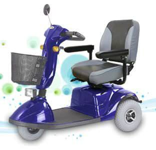 3-wheel electric scooter HS-730 Chien Ti Enterprise Co., Ltd.