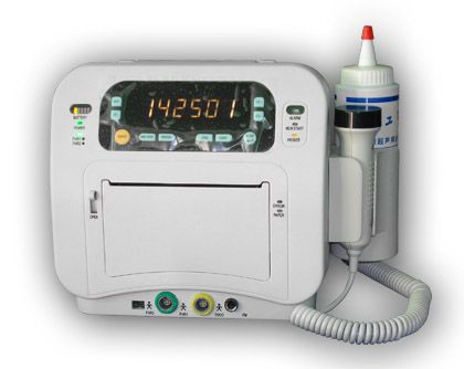 Fetal doppler / portable / with heart rate monitor 1.5 - 3 MHz | A8200S5T Ambulanc