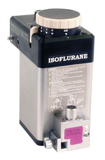 Veterinary anesthesia evaporator / anesthetic gas Tec 4 Dispomed