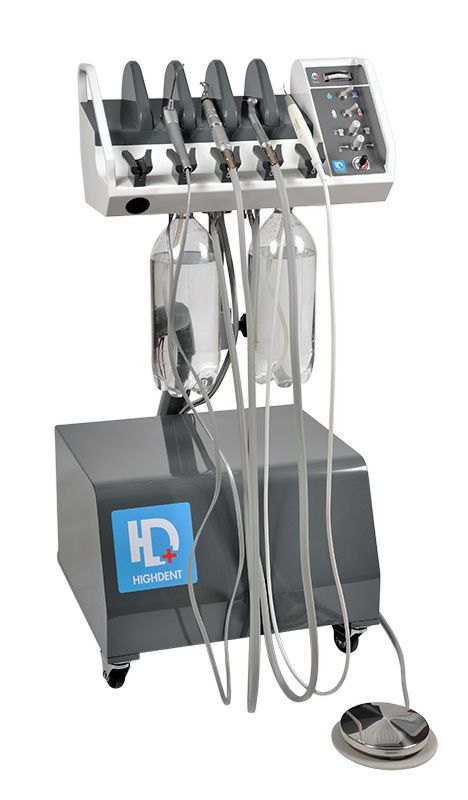 Mobile dental delivery system / veterinary HIGHDENT TRIO Dispomed