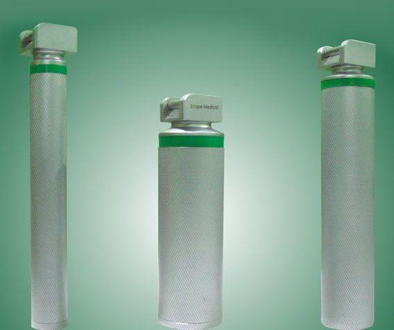 LED laryngoscope handle / fiber optic SCOPE MEDICAL