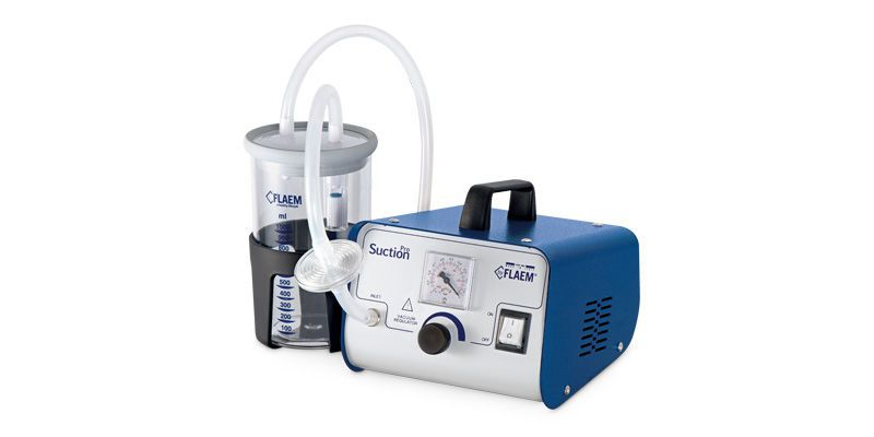 Electric surgical suction pump / handheld Suction PRO Flaem Nuova