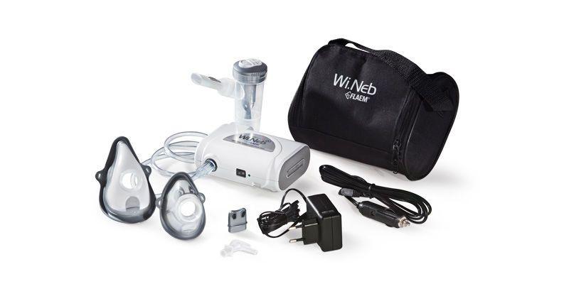 Pneumatic nebulizer / infant / with compressor Wi.Neb GO Flaem Nuova