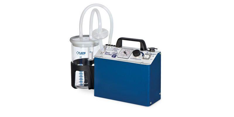 Electric surgical suction pump / handheld Port a Suction PLUS30 Flaem Nuova