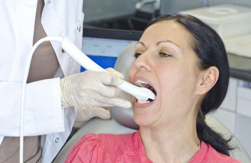 Dental clinic dental CAD CAM scanner / intra-oral Bluescan-I Blueline 3D GmbH