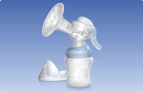 Manual breast pump / portable SoftFlex™ Nuby