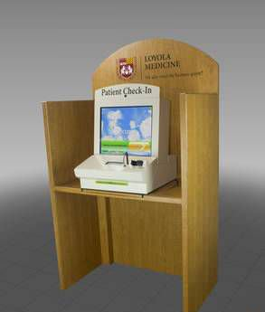 Interactive terminal DeskTopper™ CTS