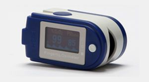 Compact pulse oximeter / fingertip / wireless Carematix