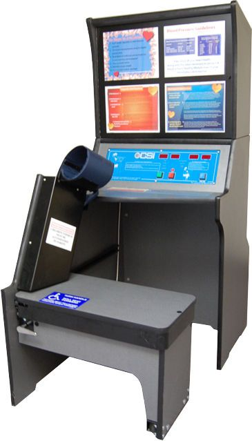Telemonitoring station vital sign 5K CSI Computerized Screening