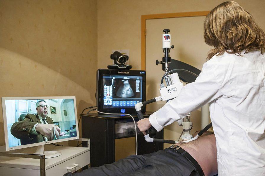 Robotic remote ultrasound system MELODY Adechotech