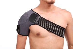 Shoulder orthosis (orthopedic immobilization) / immobilisation / flexible SQ1-H006 Senteq