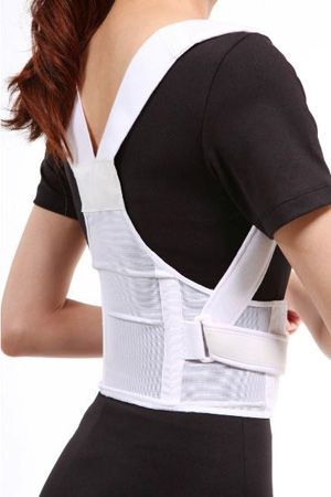 Posture corrective orthosis (orthopedic immobilization) / vertebral hyperextention / with flexible stays SQ1-B004 Senteq
