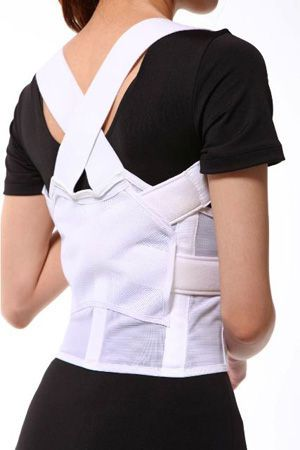 Posture corrective orthosis (orthopedic immobilization) / vertebral hyperextention / with flexible stays SQ1-B003 Senteq