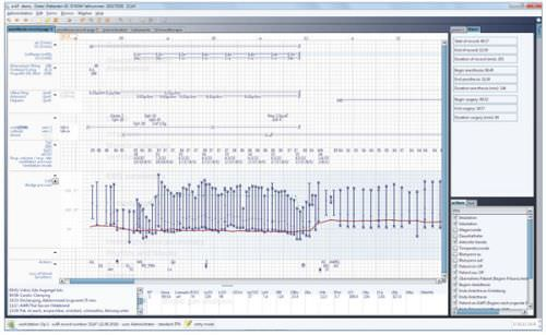 Management software / medical / for anesthesia services e.AR LOWTeq