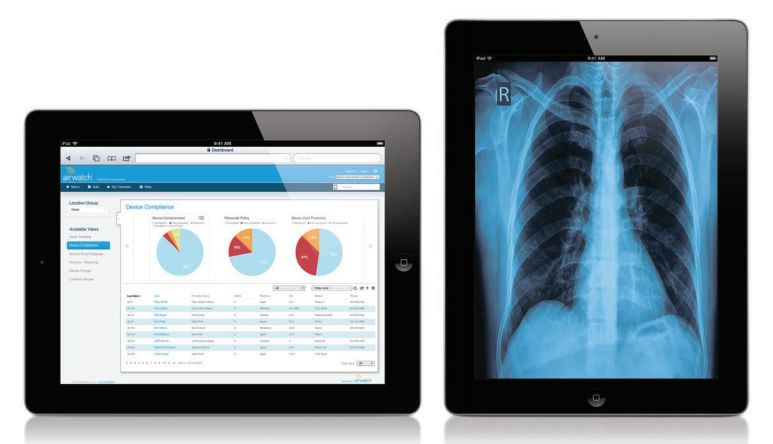 Management software / medical / for hospitals AirWatch® AirWatch