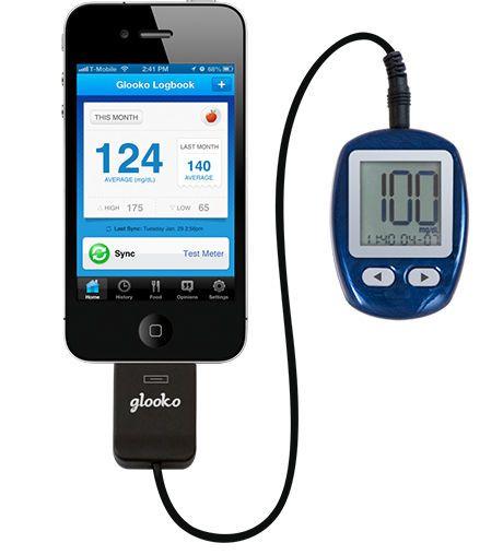Diabetes telemonitoring iOS application Glooko Glooko