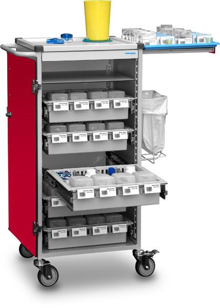 Medicine distribution trolley B10.009 Wiegand