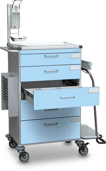 Intensive care trolley / with drawer B10.032 Wiegand