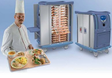 Banquet trolley / warming ROOMSERV Socamel Technologies