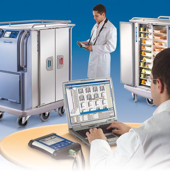 Software / meal distribution management I-SERV VISION Socamel Technologies