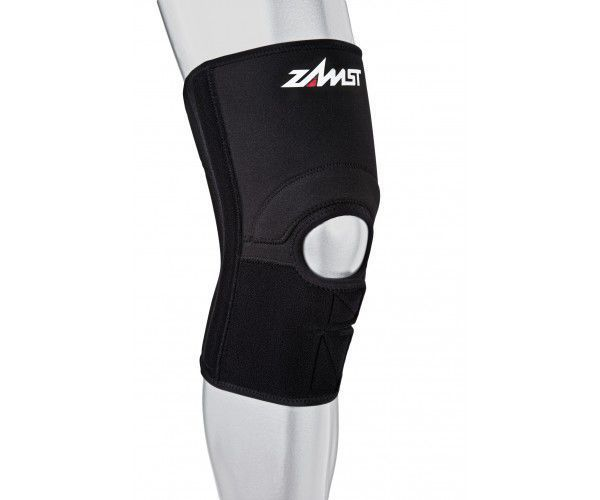 Knee sleeve (orthopedic immobilization) / open knee / with patellar buttress / with flexible stays ZK-3 Nippon Sigmax