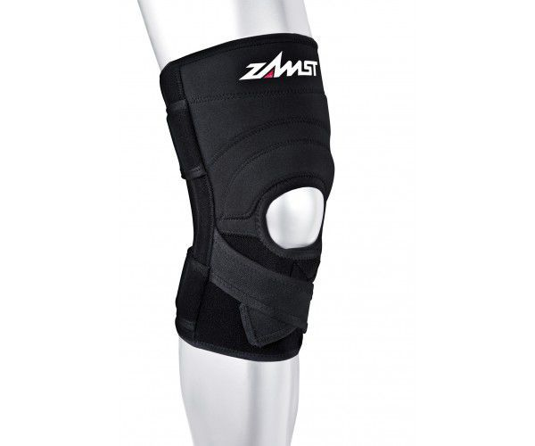 Infra-patellar knee strap (orthopedic immobilization) / knee orthosis / with flexible stays / open knee ZK-7 Nippon Sigmax