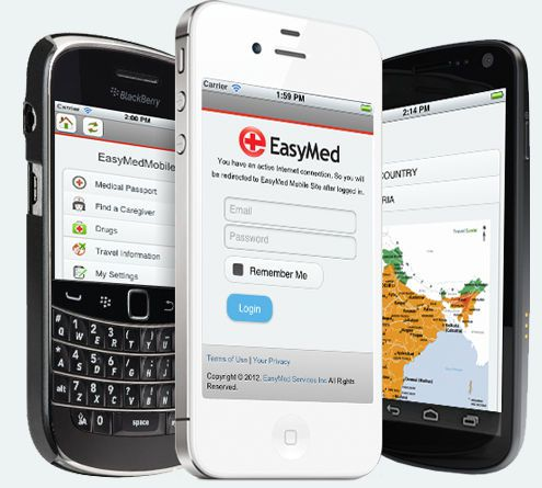 Medical software / personal records Medical Passport EasyMed