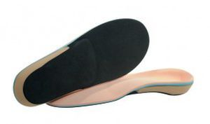 Orthopedic insoles with heel pad Functional Trilam Mile High Orthotics Labs