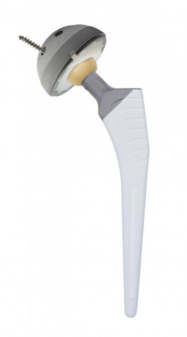 Traditional hip prosthesis / for total hip arthroplasty / cementless KAREY-HA® REVISION Surgival