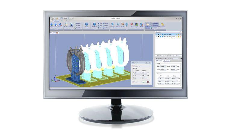 CAD software / 3D viewing / dental K-STUDIO Kevvox