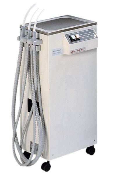 Aspirating vacuum pump / dental / mobile Aspi-Jet Gigadent Deutsche Dental GmbH