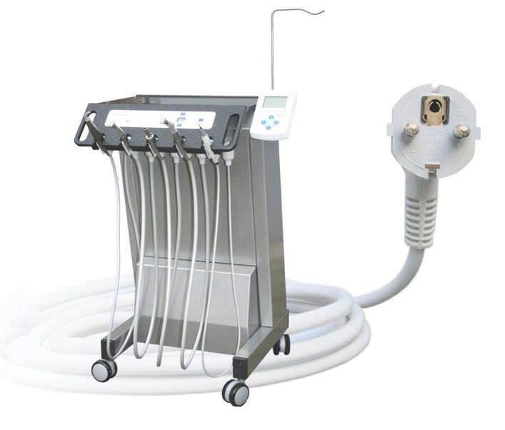 Mobile dental delivery system NOP Gigadent Deutsche Dental GmbH