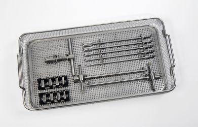 Ancillary kit / orthopedic surgery (interbody fusion cage) PLIF ST Intromed Medizintechnik
