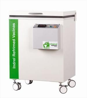 Pharmacy refrigerator / on casters / 1-door CI 3D Indrel a.