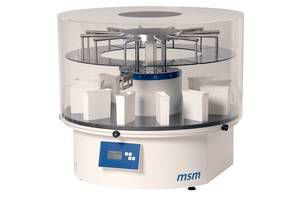 Staining automatic sample preparation system / for histology MSM SLEE MEDICAL