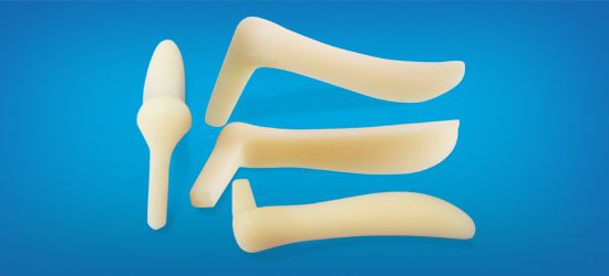 Rear of nose cosmetic implant / anatomical / silicone L30-650 Wanhe Plastic Material