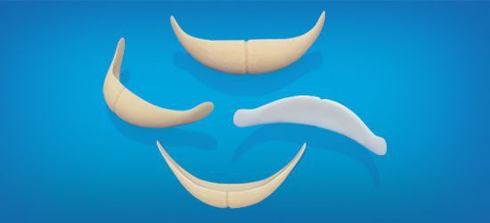 Chin cosmetic implant / anatomical / silicone C5 Wanhe Plastic Material