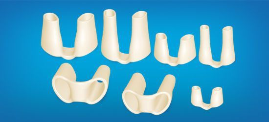 Nasal cosmetic implant / anatomical / silicone NR Wanhe Plastic Material