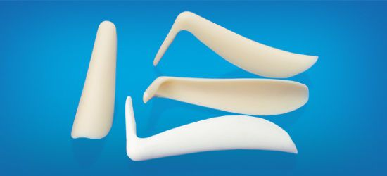 Rear of nose cosmetic implant / anatomical / silicone LD Wanhe Plastic Material
