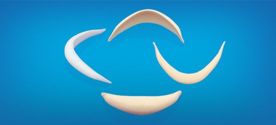 Chin cosmetic implant / anatomical / silicone C3 Wanhe Plastic Material