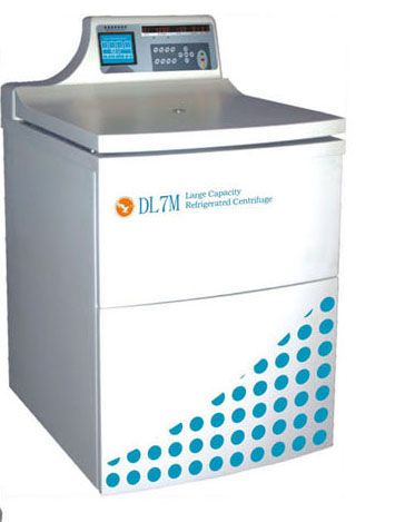 Laboratory centrifuge / high-capacity / floor standing / refrigerated 7000 rpm | DL7M Changsha Weierkang Xiangying Centrifuge