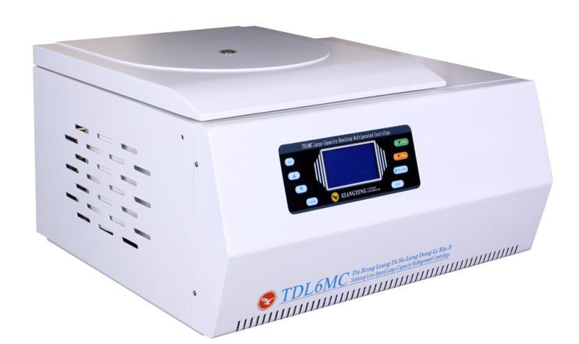 Laboratory centrifuge / bench-top / refrigerated 6000 rpm | TDL6MC/TDL6M Changsha Weierkang Xiangying Centrifuge